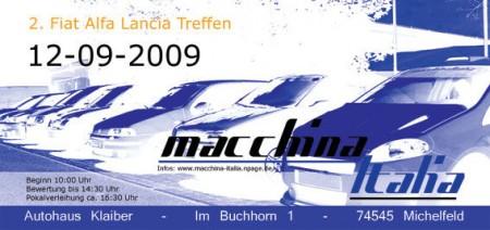 macchina Italia 2009
