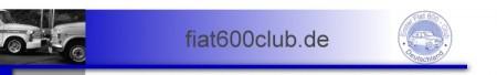 1. Fiat 600 Club Deutschland