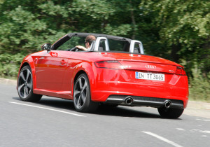 Audi TT Roadster.