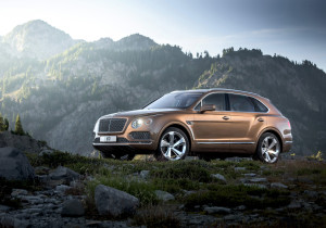 Neuzugang bei den Luxus-SUV: der Bentley Bentayga.