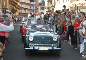 Der Dolomiten-Express rollt ins Ziel. Bei den vielen Motorsport-Veranstaltungen gibt es keine Verlierer.
