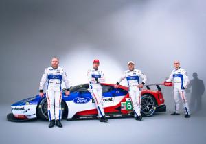Das neu gegründete Team Ford Chip Ganassi Racing tritt bei der Langstrecken-Weltmeisterschaft 2016 mit zwei neu entwickelten LM GTE-Pro-Rennwagen an.