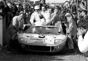 Ruhmreiche Vergangenheit: Mit dem GT40 deklassierte Ford 1966 die gesamte Konkurrenz beim 24-Stunden-Rennen von Le Mans.