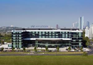 Hyundai-Deutschland- und Europazentrale in Offenbach