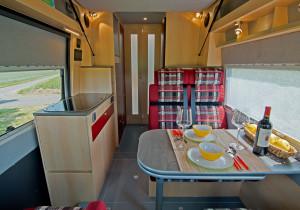 mid Herborn - Neu im Avanti H: Die Travel-Lounge mit Iosfix und zwei Gurten.