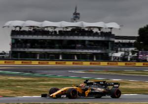 mid Cranfield/Silverstone - In Silverstone kann Nico Hülkenberg im Renault gut mithalten und erreicht am Ende einen guten sechsten Platz.