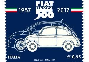 mid Frankfurt am Main - Die italienische Post würdigt das Kult-Auto mit einer Sonder-Briefmarke.