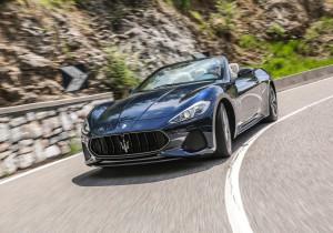 mid Groß-Gerau - Maserati zeigt auf der IAA im September 2017 unter anderem das nachgeschärfte GranCabrio.