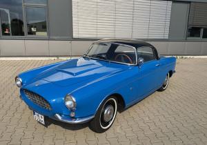 """Wirklich einzigartig ist der Fiat 1100 TV Boano Sport Coupé (Baujahr 1956): An der 10. Hamburg-Berlin-Klassik 2017 nimmt das einzige noch fahrbereite Exemplar teil. Weiterer Text über ots und www.presseportal.de/nr/53065 / Die Verwendung dieses Bildes ist für redaktionelle Zwecke honorarfrei. Veröffentlichung bitte unter Quellenangabe: """"obs/AUTO BILD/Bildrechte: AUTO BILD KLASSIK"""""""