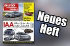 Neues Heft auto motor und sport, 20/2017, Heftvorschau