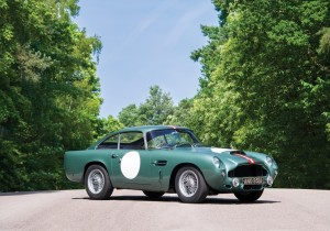 Bei RM Sotheby's versteigert: Aston Martin DB4 GT Prototype (1959) für 6,765 Millionen US-Dollar (5,756 Mio. Euro).