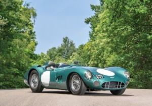 Bei RM Sotheby's versteigert: Aston Martin DBR1 (1956) für 22,55 Millionen US-Dollar (ca. 19,185 Millionen Euro).