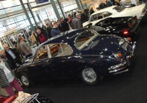 Bremen Classic Motorshow 2018: Daimler Saloon V8 (1967).