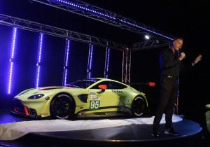 Rennversion des Aston Martin Vantage.