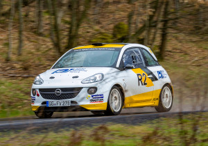 mid Groß-Gerau - Der Opel Adam R2, der bereits dreimal in Folge die Junioren-EM gewann, hat ebenfalls einen Auftritt bei der Rallye Hessen-Thüringen 2018.