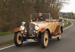 mid Groß-Gerau - Zeitreise: Bei der Rallye Hessen-Thüringen können die Zuschauer den Opel 8/25 PS aus dem Jahre 1920 bewundern.