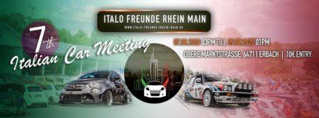 ABGESAGT: Italo Meeting 2020// Erbach @ Erbacher Festhalle