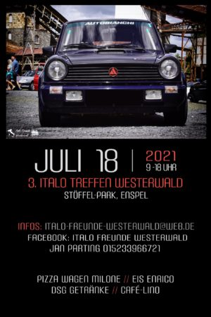 3. Italo Treffen Westerwald @ Stöffel-Park